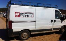 Uno de los vehículos robados. / Fb