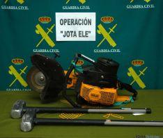 La Guardia Civil en Soria culmina una gran operación. / Subdeleg