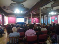 Conferencia 'La Fauna Soriana' en el Círculo Amistad Numancia./SN