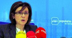 Mª Mar Angulo, presidenta PP de Soria. /SN