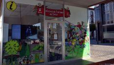 Oficina de turismo en Soria capital./SN
