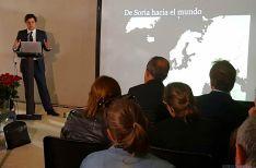 Martínez de Haro este miércoles en las instalaciones garreñas. / SN
