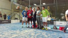 Torneo en el Club de Pádel de Soria.