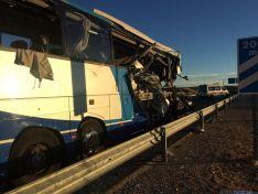 Accidente de tráfico en Adradas, Soria. / Cope Soria.