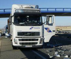 Accidente de tráfico en Adradas, Soria.