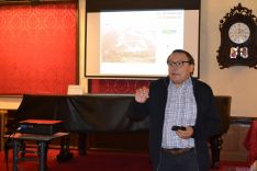 Conferencia 'Las Numancias de Numancia' de Alfredo Jimeno. /SN