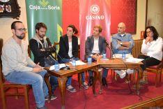 Charla sobre los medios de comunicación sorianos
