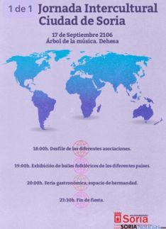 Presentación de las XVIII Jornadas Interculturales Ciudad de Soria.