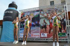 Las gimnastas del Numancia ofrecieron una demostración. /SN