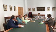 Javier Muñoz mantiene una reunión para avanzar con el evento Numancia 2017.