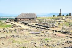Ruinas del yacimiento de Numancia.
