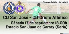 Jornada 5 de Tercera división: CD San José y Cristo Atlético.