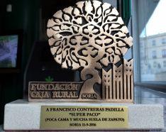 El galardón de la FCCR. / CRS