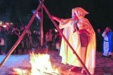 Celebración del plenilunio.