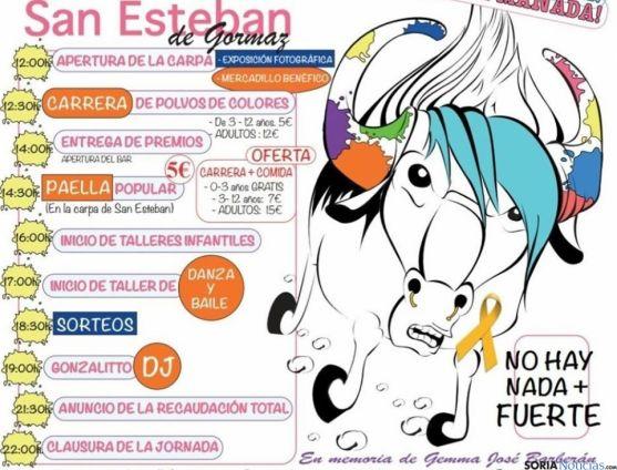 Cartel de la jornada benéfica 'Holi Ñu, únete a la manada'.
