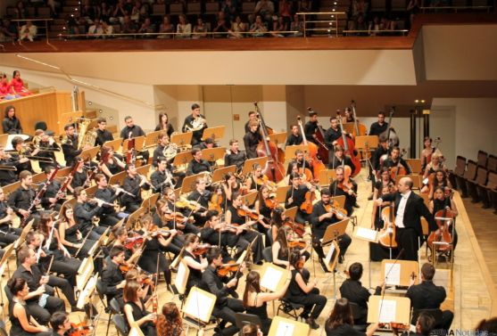 La Joven Orquesta Sinfónica de Soria. /Ayto.