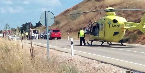 Imagen del lugar del accidente. / SN