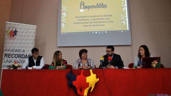 Francés, (izda.), Izquierdo, García, Munilla y Aldea, este miércoles en la presentación de 'Imperdibles'. / SN