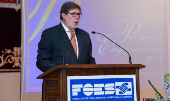 Santiago Aparicio, presidente de FOES, en una imagen de archivo.