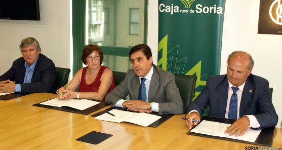 Herrero, (izda.) Rodrigálvarez, Martínez Izquierdo, De Pablo y Martínez. / CR