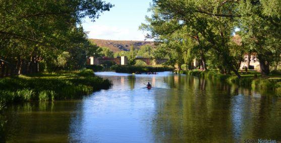 Imagen del río en la capital. / SN