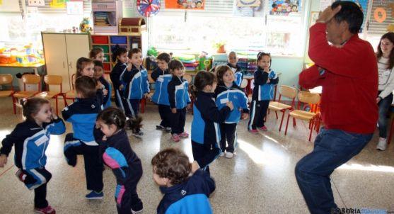 Niños en un colegio católico de Soria. / SN