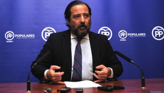 José Manuel Hernando, este lunes. / SN