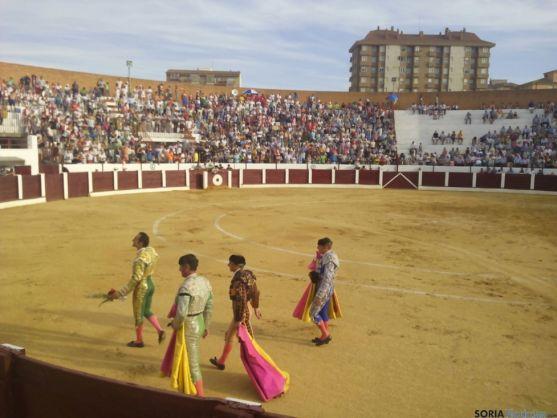 Imagen tarde de toros en Almazán. /SN