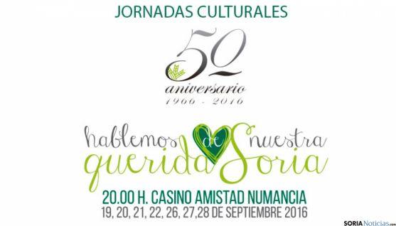 Jornadas culturales 'Hablemos de nuestra querida Soria' de Caja Rural de Soria.