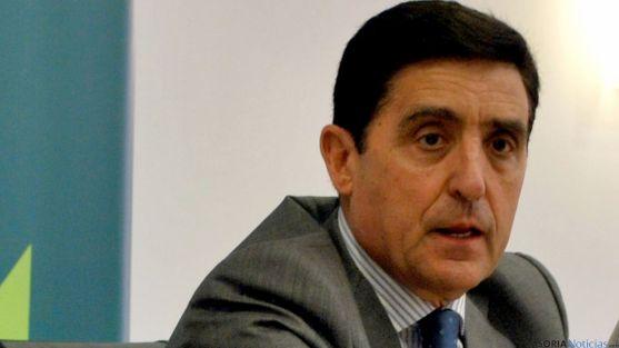 Carlos Martínez Izquierdo, presidente de la Caja Rural de Soria. / SN