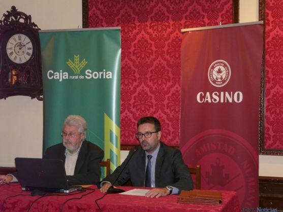 Presentación de las jornadas hoy en el Casino./SN
