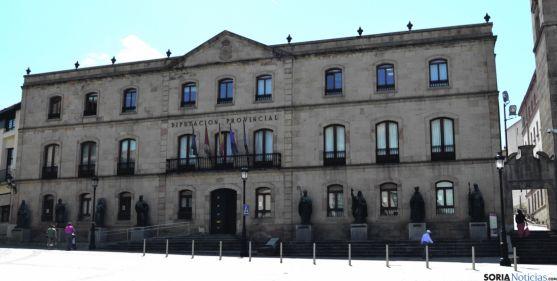El Palacio Provincial, sede de la Diputación./SN