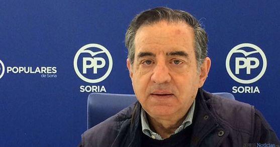 Sanz, del PP municipal en Abejar.