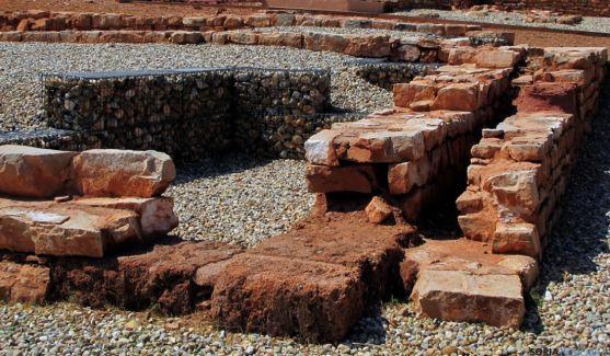 Imagen del área central de la antigua ciudad de Tiermes. / Jta.