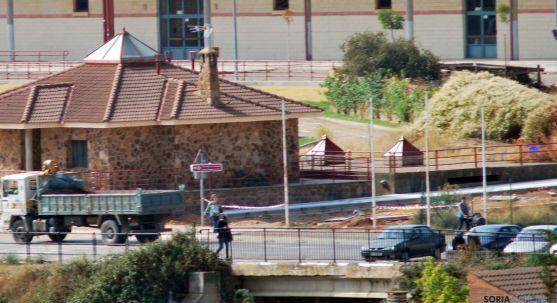 Lugar donde arranca el nuevo vial en Los Pajaritos. / SN