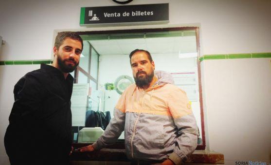 De izda. a dcha.: Diego Mayor y Sergio De Miguel.