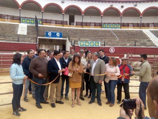 Inauguración de la VIII Feria Ganadera, Soria.