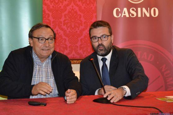 Alfredo Jimeno junto a Eduardo Munilla. /SN