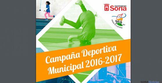 Campaña Deportiva Municipal 2016/2017 (Soria).