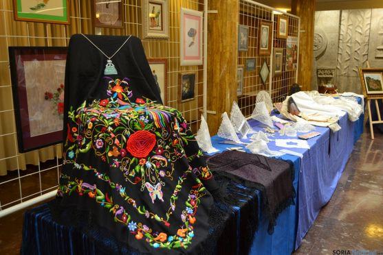 Exposición de Encajeras Leonor de Soria. /SN