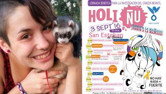 Jornada benéfica 'Holi Ñu: únete a la manada', en San Esteban de Gormaz (Soria).