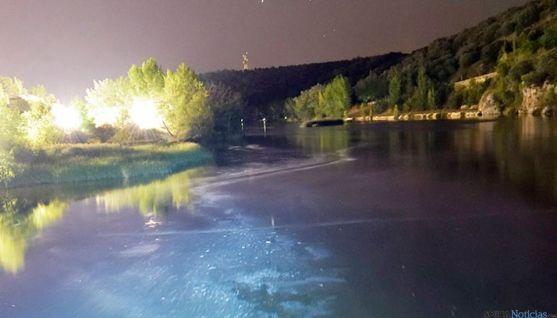 Imagen del río Duero en su paso por Soria capital.