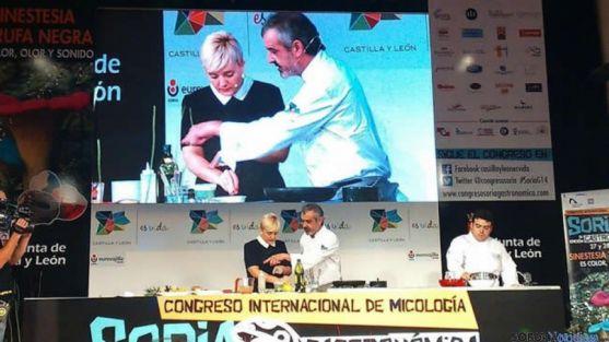 Juan Pablo Felipe, en otra edición de Soria Gastronómica./ SN