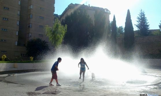 Fuente del Rincón de Bécquer, Soria.