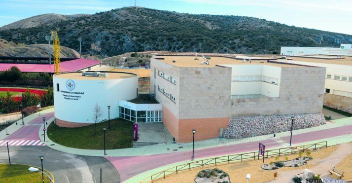 Imagen del Campus uninversitario de Soria. / SN