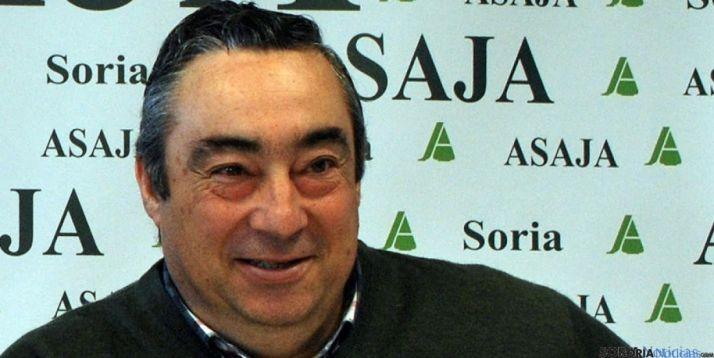 Carmelo Gómez es el presidente de ASAJA Soria. / SN