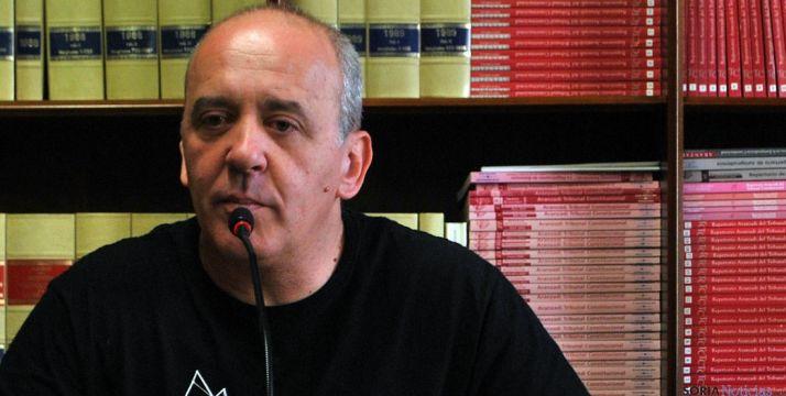 García, este martes en rueda de prensa. / SN