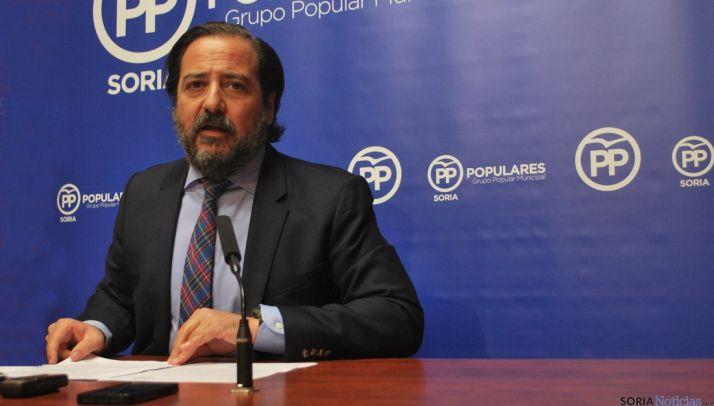 El concejal del PP José Manuel Hernando. / SN