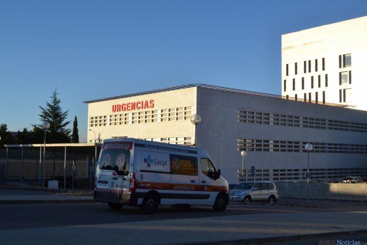 Servicios de Urgencias del Hospital de Santa Bárbara en imagen de archiv. SN