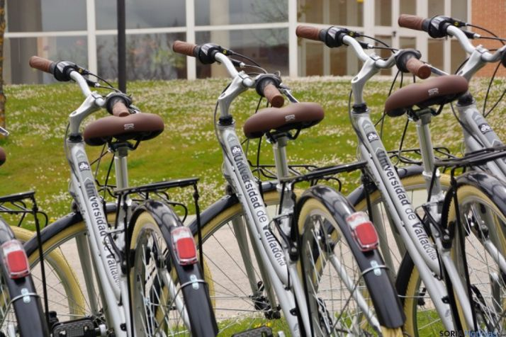 Préstamo gratuito de Bicicletas en Soria.
